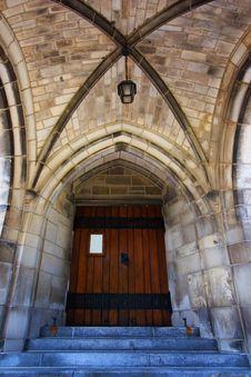 Free Gothic Doorway Stock Photos - 992213