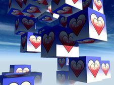 Free Cube Love 15 Stock Photos - 992533