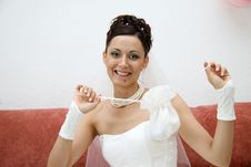 Free Pretty Bride. Royalty Free Stock Photography - 992687