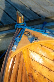 Free Detail Of Wooden Boat Stock Photo - 992950
