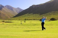 Free Golfer Royalty Free Stock Image - 993456