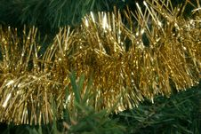 Free Gold Garland Stock Photography - 993482