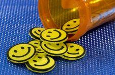 Happy Pills Royalty Free Stock Image