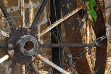 Free Wagon Wheel Royalty Free Stock Image - 993936