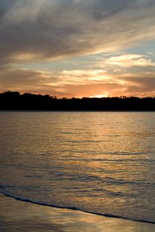 Byron Bay Sunset Royalty Free Stock Images