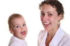 Free Happy Mother And Baby Stock Image - 995231