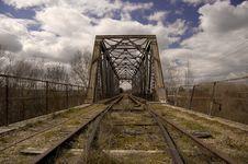 Free Abandoned Rail Royalty Free Stock Image - 996836