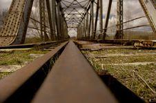 Free Abandoned Rail Royalty Free Stock Image - 996856