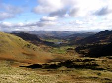 Free HardKnott Pass In Cumbria Royalty Free Stock Photography - 997217