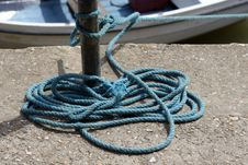 Free Boat Rope Royalty Free Stock Photos - 997288