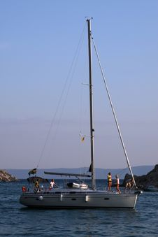 Free Holiday On Sailboat Royalty Free Stock Images - 997499