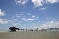 Free Stilt House On Beach Stock Photos - 998723