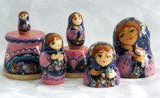 Free Matrioshka 2 Stock Images - 999094
