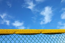 Free Baseball Fence Protection Royalty Free Stock Photography - 999117