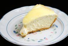 Free Lemon Glazed Cheesecake Stock Images - 999564