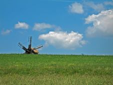 Free Windmill On A Summer Day Stock Photo - 999950