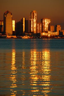 Free Downtown San Diego Royalty Free Stock Photography - 9900237