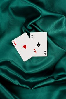 Free Two Aces Stock Photos - 9901143