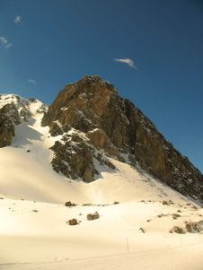 Free French Alps Royalty Free Stock Image - 9901606