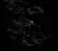 Free Constellation Of Liry Royalty Free Stock Photos - 9902038