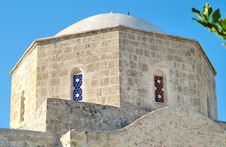 Free A Top Of An Ancient Church In Paphos. Royalty Free Stock Photos - 9902828