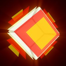 Free Colorful Cube 2 Royalty Free Stock Images - 9902829