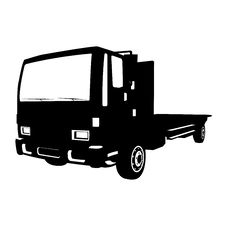 Free Non-gradiented Truck Royalty Free Stock Images - 9903309