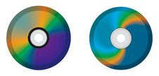 Free Compact Disc Royalty Free Stock Photography - 9903347