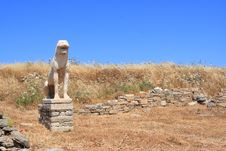 Free Delos Lion Stock Images - 9903734