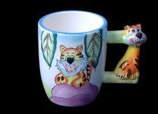 Free Child Milk Mug Stock Photography - 9904622