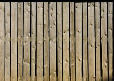 Fence Of Old Wooden Plank Stock Image