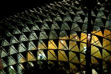Free Singapore:  Dramatic Roof Of Esplanade Theatre Royalty Free Stock Photos - 9905908