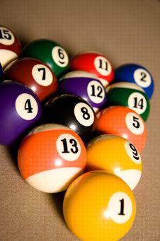 Free Billard Table Royalty Free Stock Photos - 9906818