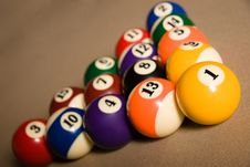 Free Billard Table Stock Photography - 9906822