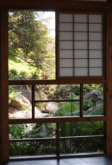 Free Tea House Window Stock Images - 9908304