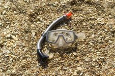 Free Mask And Snorkel Royalty Free Stock Photo - 9908315