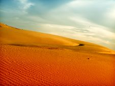 Free Sand Dunes Royalty Free Stock Photos - 9908378