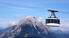 Free Cable Way In The Sky Stock Photo - 9909940