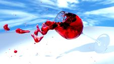 Free Water, Red, Sky, Drop Royalty Free Stock Photos - 99004618