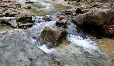 Free A Babbling Brook Royalty Free Stock Image - 99031836