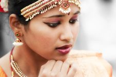 Free Jewellery, Eyebrow, Hair Accessory, Beauty Stock Image - 99033291