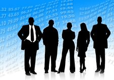 Free Social Group, Standing, Business, Silhouette Royalty Free Stock Photography - 99036247