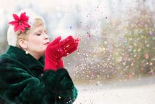 Free Red, Pink, Girl, Winter Royalty Free Stock Image - 99039296