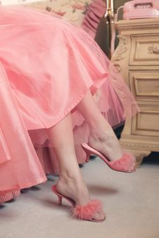 Free Pink, Footwear, Leg, Joint Stock Photography - 99039502