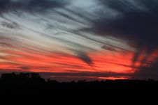 Free Sky, Red Sky At Morning, Afterglow, Atmosphere Stock Photos - 99041473