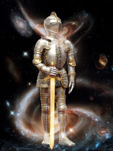 Free Mythology, Astronaut, Armour, Space Stock Images - 99045044