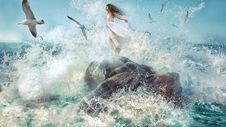 Free Water, Wave, Sea, Wind Wave Stock Photography - 99048362