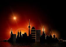 Free Skyline, Sky, Night, Lighting Royalty Free Stock Images - 99048919