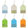 Free Tags With Squares Stock Image - 9914941