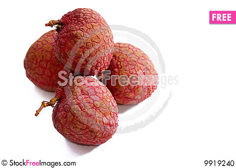 Fresh Lychee Series 04 Stock Photo